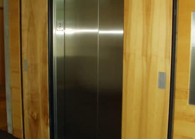 Fremont Office Building-M52 push plates, smoke containment