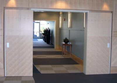 Elevator Lobby, Bothell, WA-Sketch face wood Doors